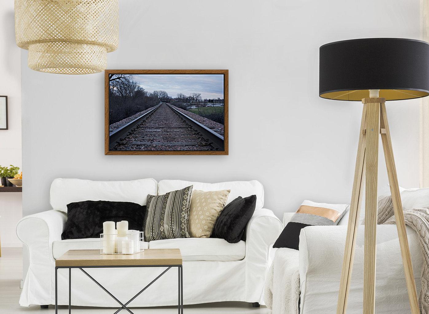 Train Tracks  Art