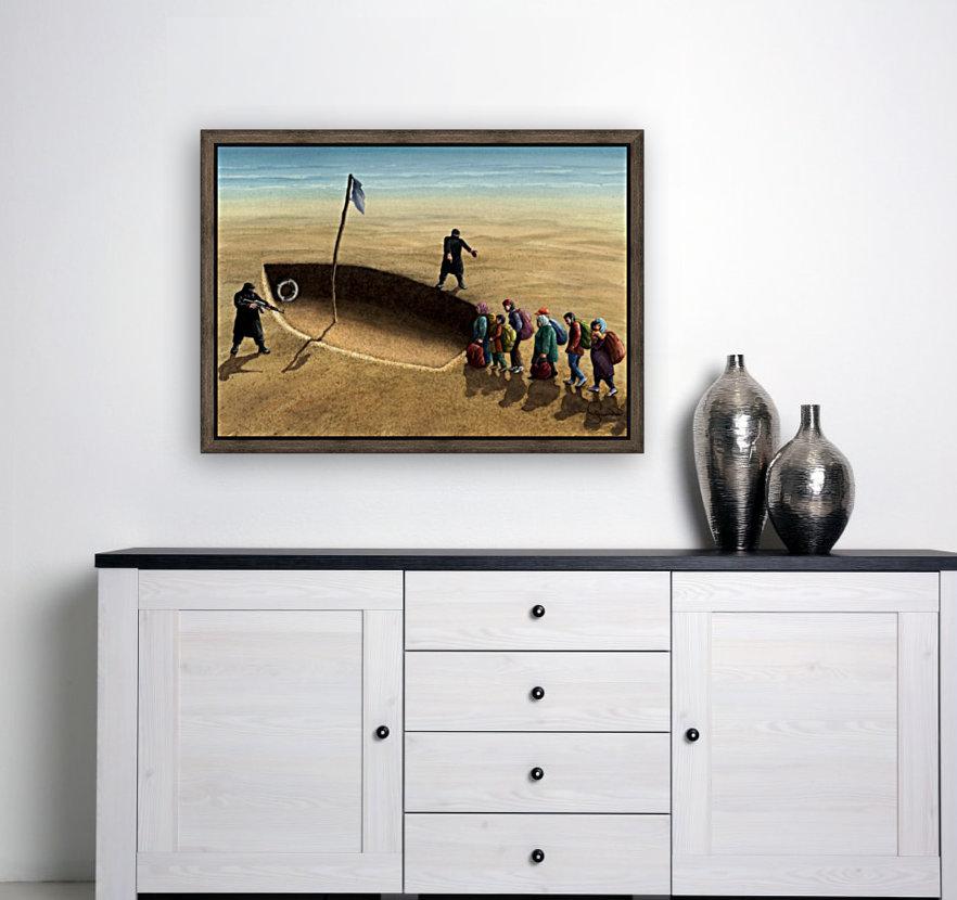Last emigration by Krzysztof Grzondziel  Art