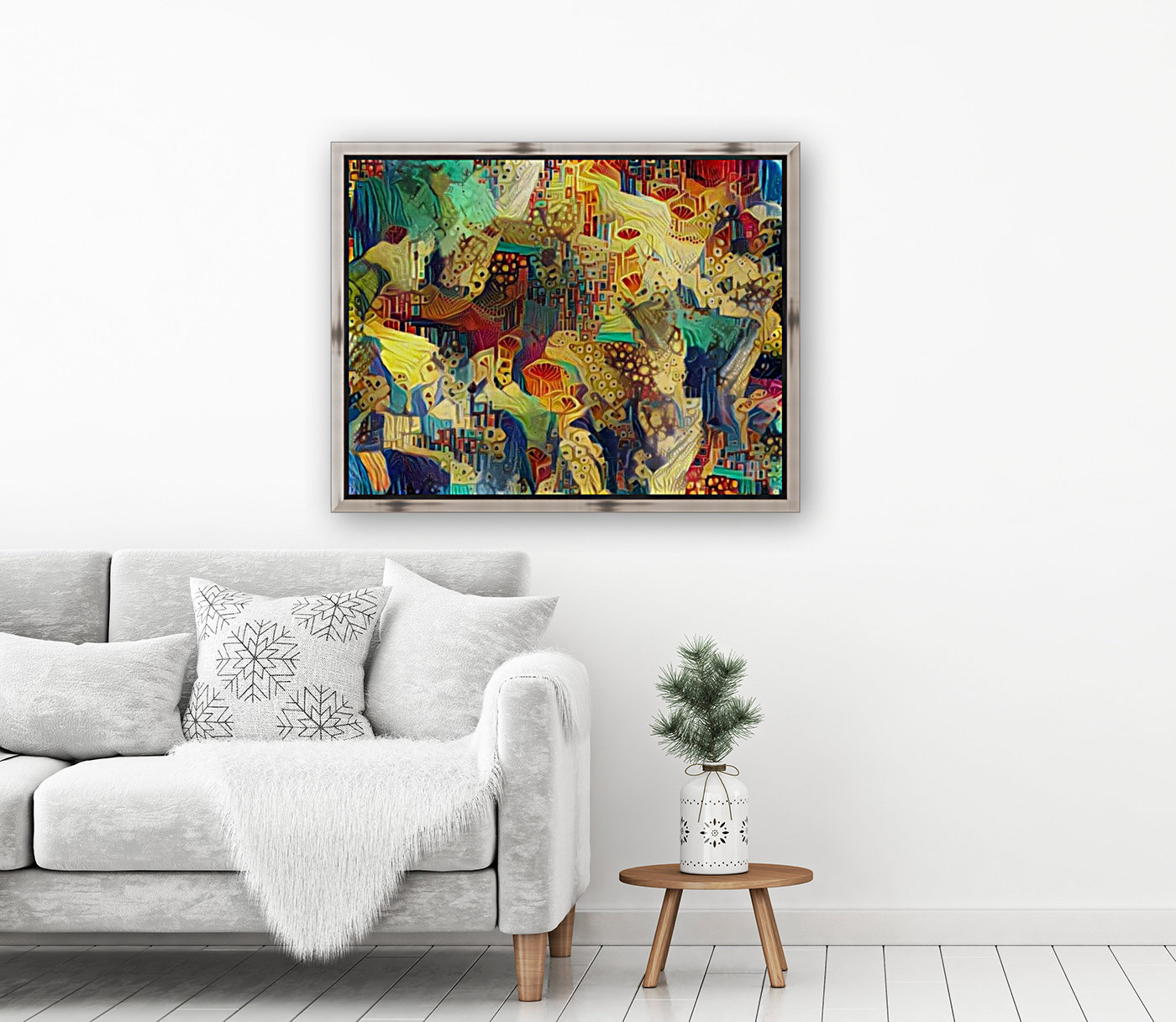 Colorful Abstract Ornament  Art