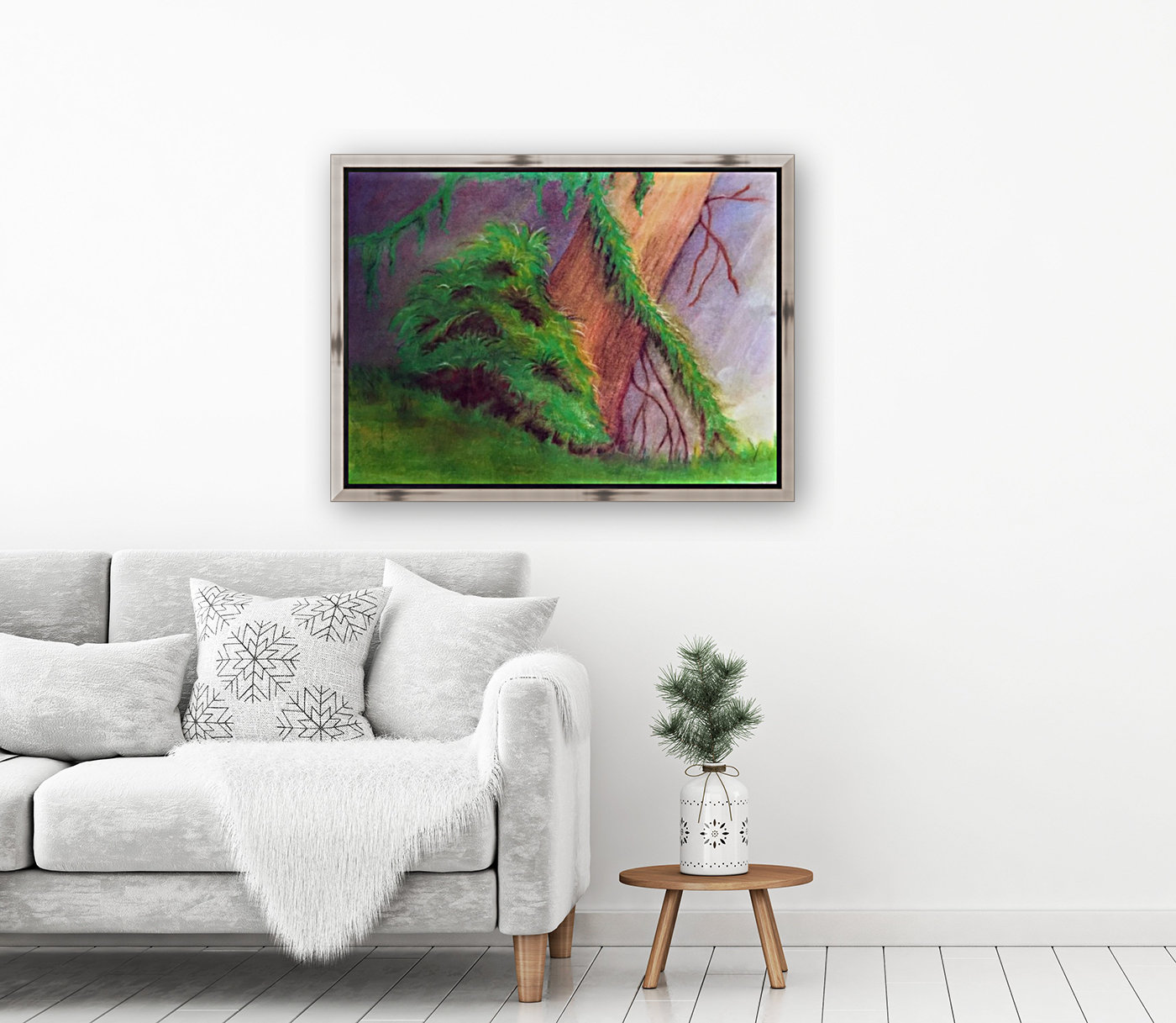 Rainforest with Floating Frame