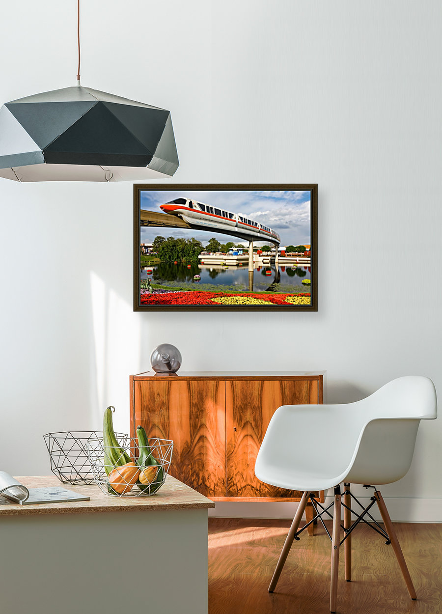 EPCOT Monorail  Art