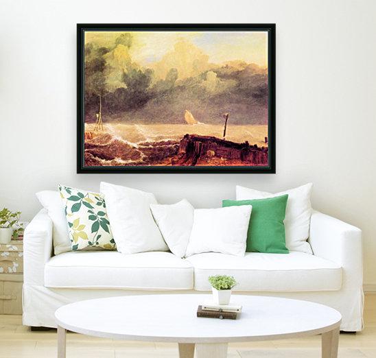 Port Ruysdael by Joseph Mallord Turner  Art