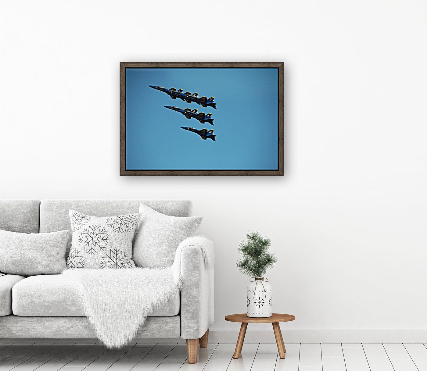 USN Blue Angels Formation  Art