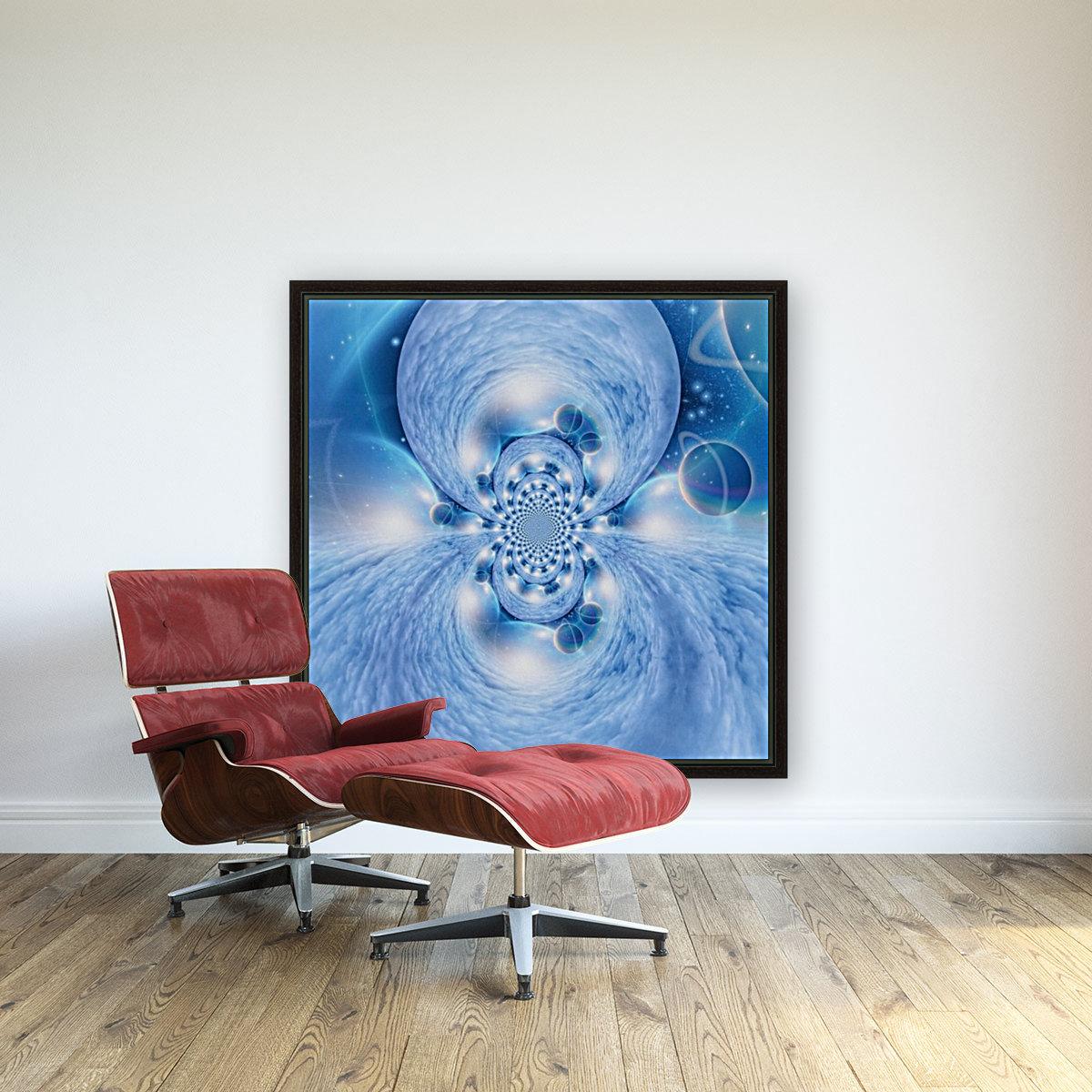 Planetarium Fractal  Art
