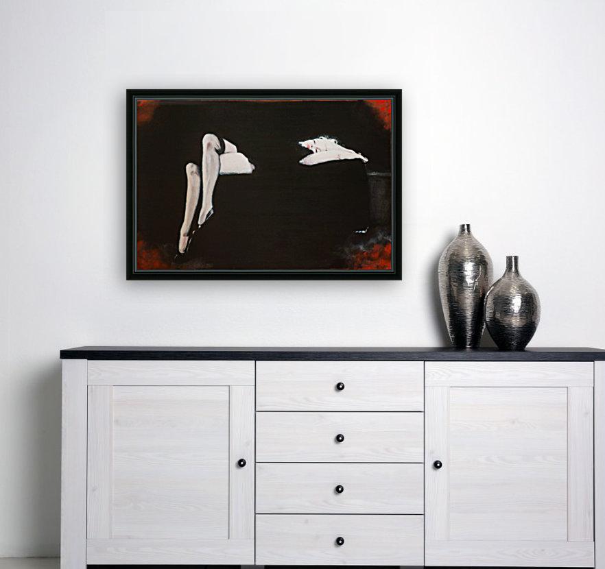 Marilyn black sitting 106   oil painting  portrait 1  Art