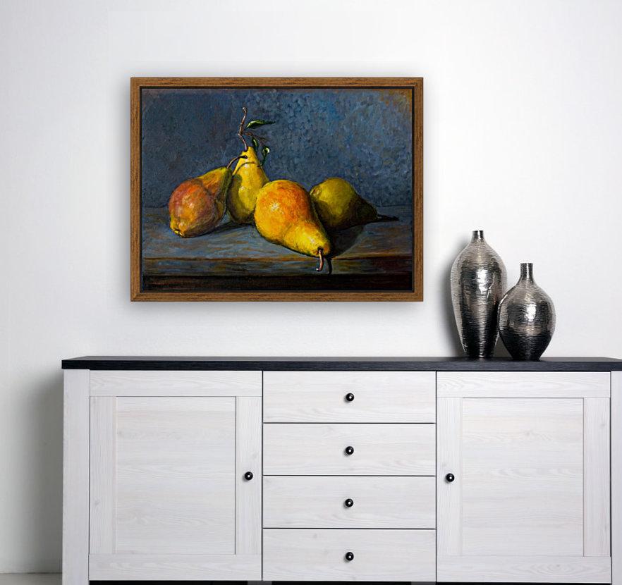 Quatre poires pour Anna   Art