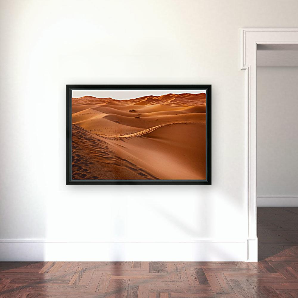 Beautiful Nature Landscape Hot Sun Desert Sahara Sand Dune Dunes Hot Climate Photography landscape photo Scenery  Art