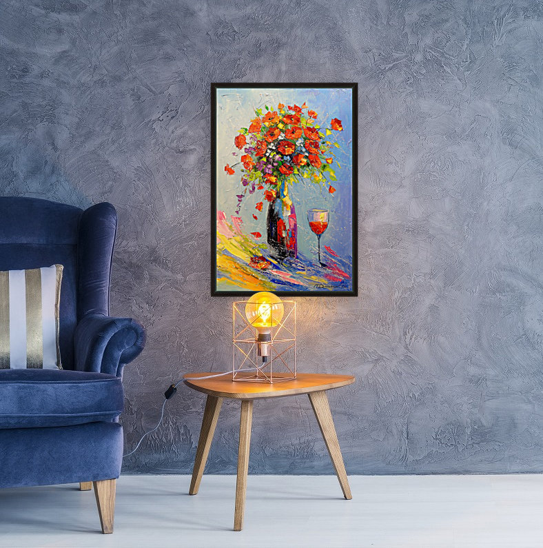 Holiday with a bouquet  Art