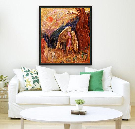 Jacob and the Angel  Art