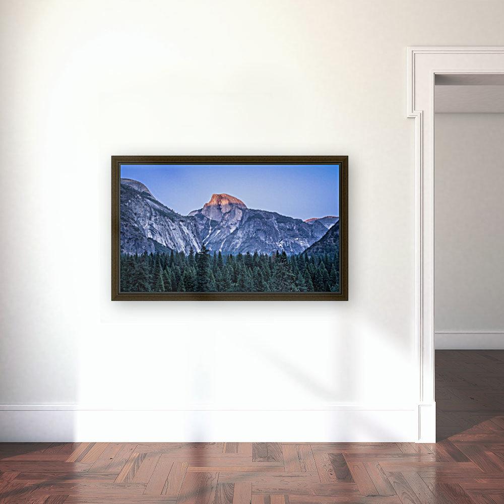 Half Dome Sunset Yosemite National Park  Art