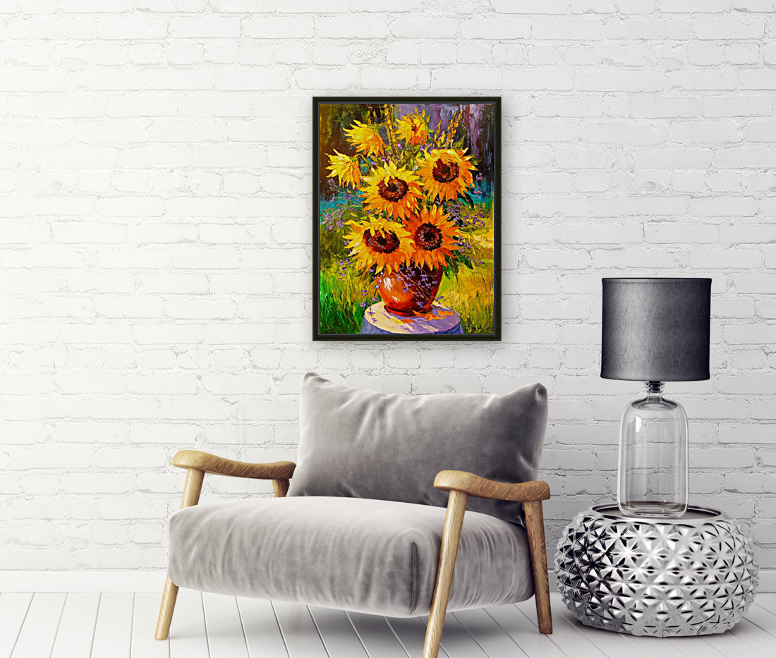 A bouquet of sunflowers  Art