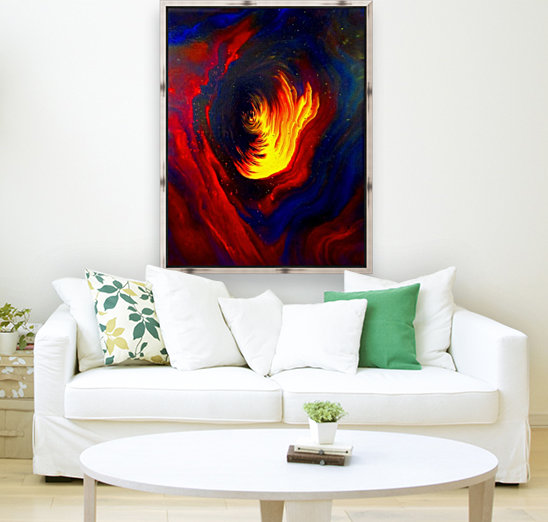 Cosmic Heat  with Floating Frame