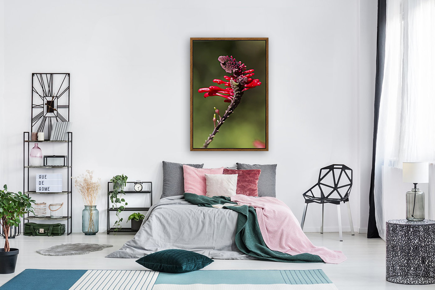 Red Flower  Art