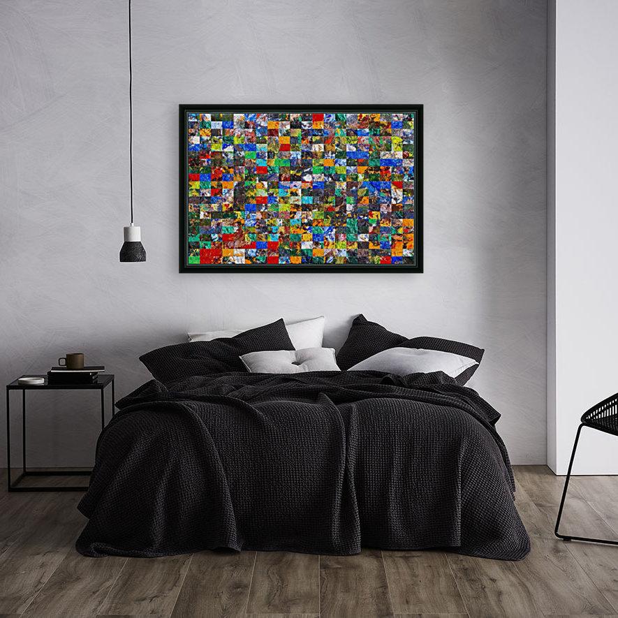 The Wall of Random Bricks  Art