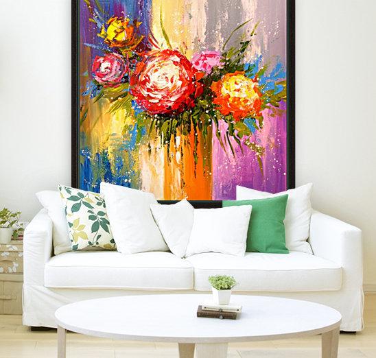 Bouquet of flowers  Art