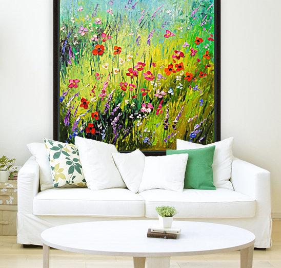 Meadow flowers  Art