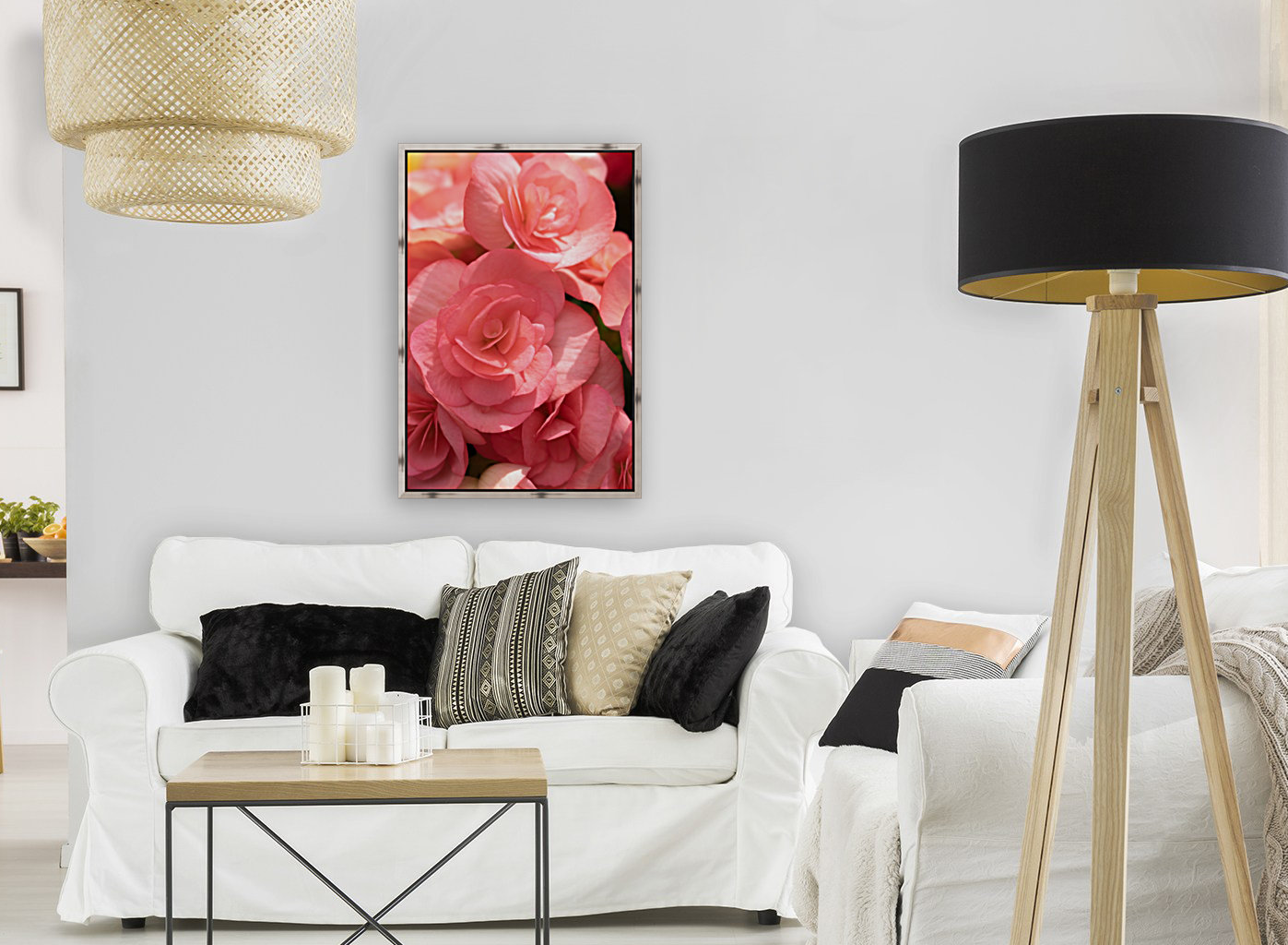 Pink pastel flower  Art