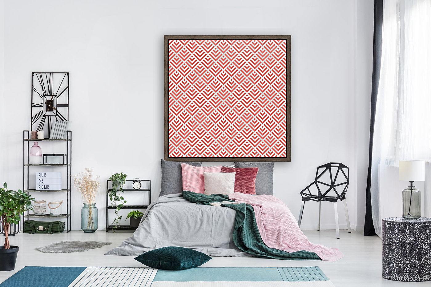 Living Coral Pattern I  Art