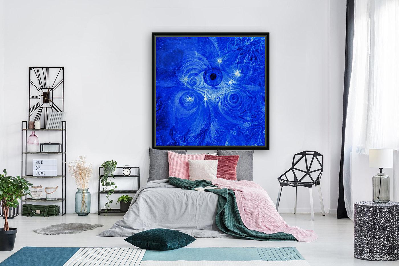 Eye and Stars  Art