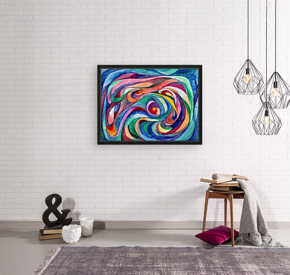 Abstract underwater world  Art