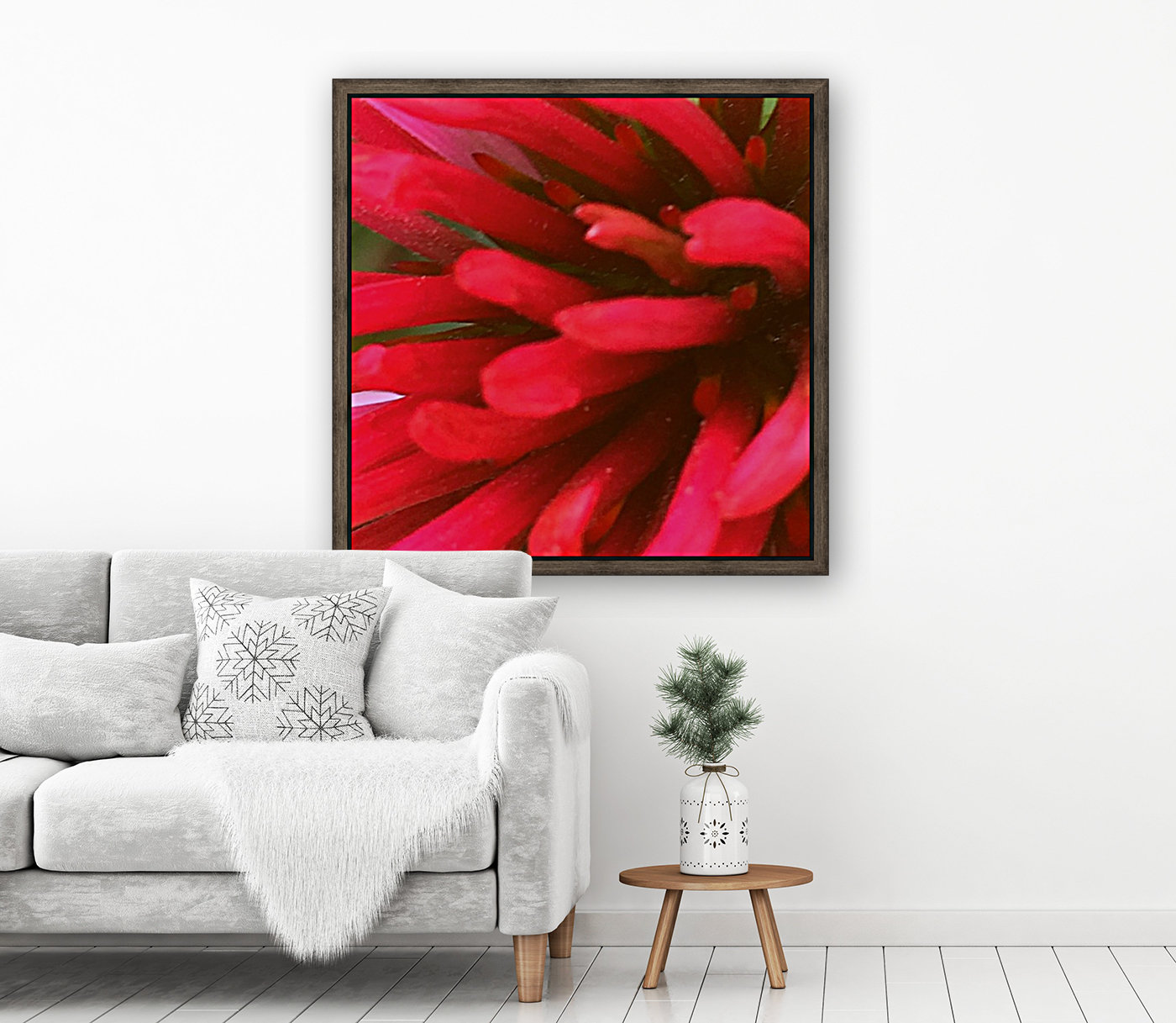 Red blossom   Art