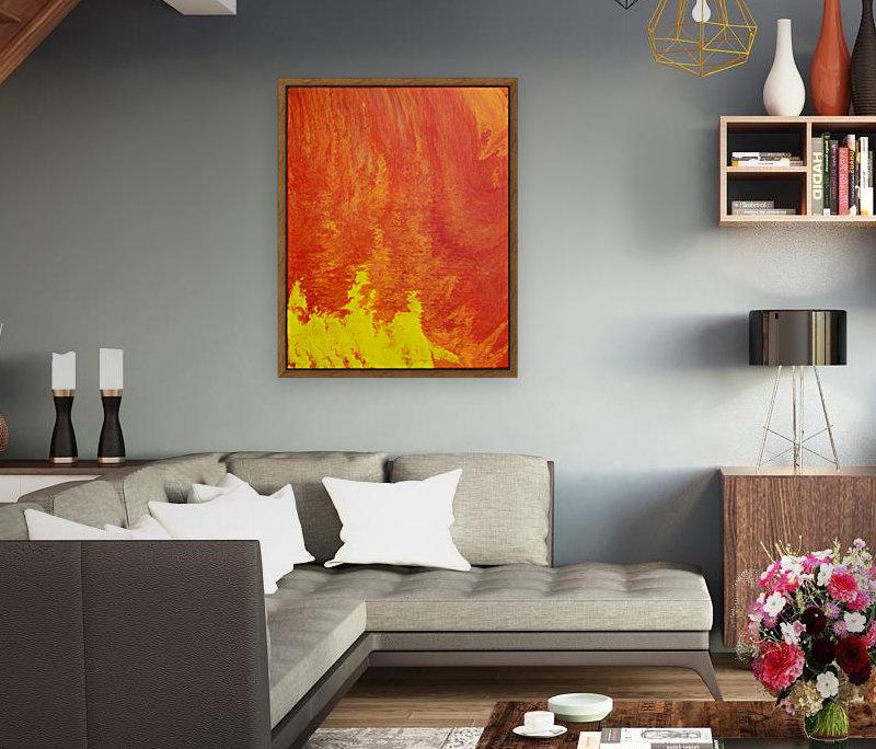 Fire in the Sky. Tala S  Art