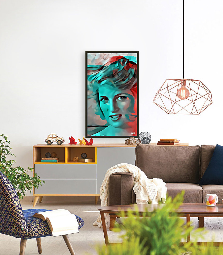 Princess Diana - by Neil Gairn Adams  Art