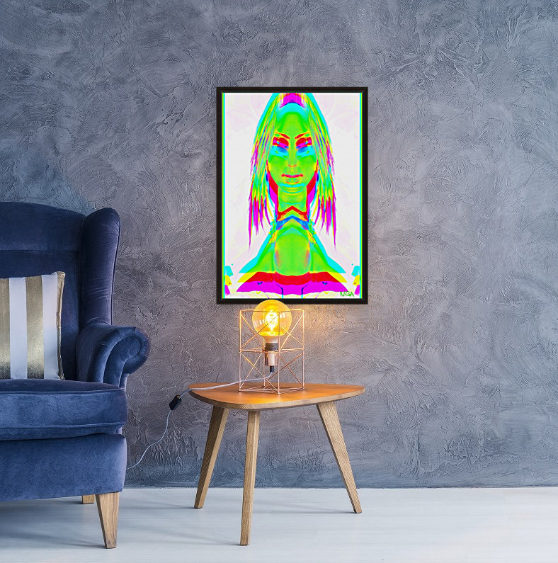 Lady in Green 2 -  by Neil Gairn Adams  Art