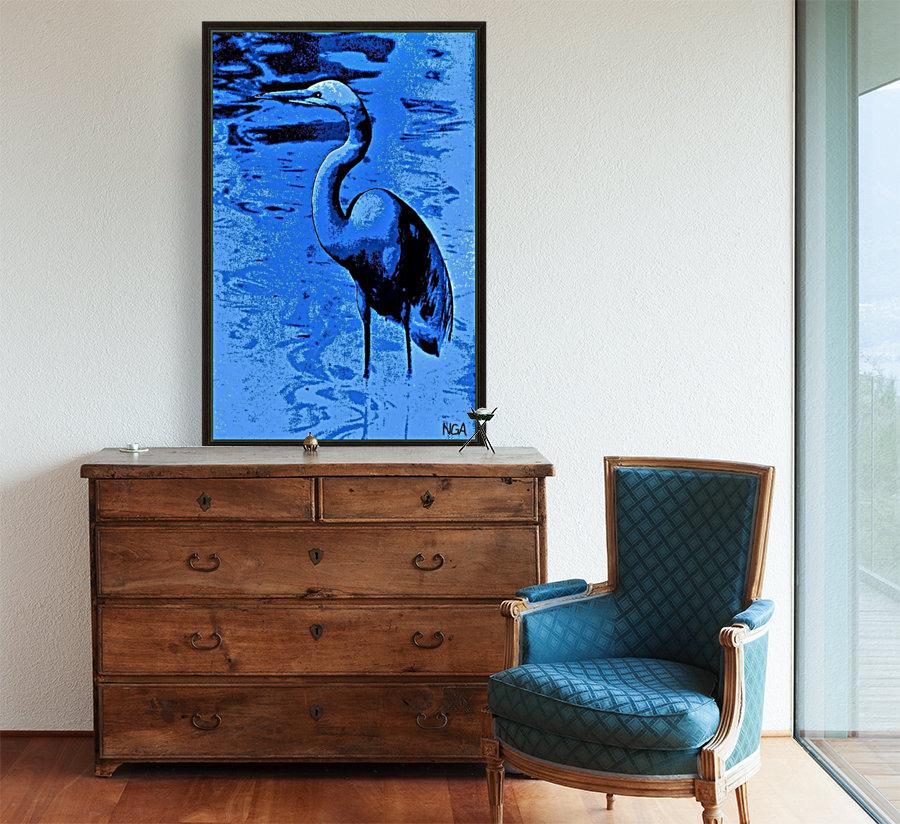 Bird in the Water -  by Neil Gairn Adams  Art