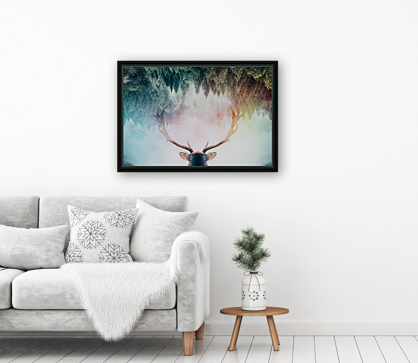 Antler with Floating Frame