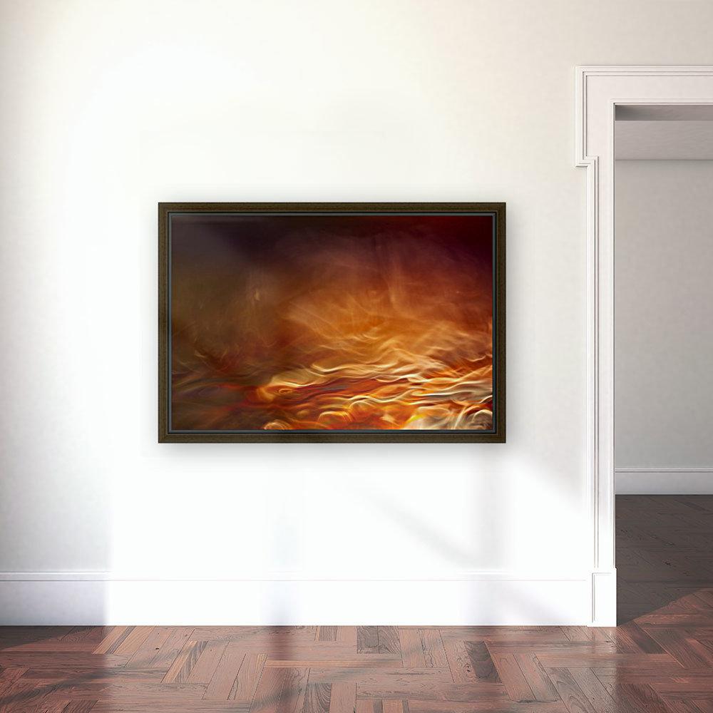 Burning water  Art