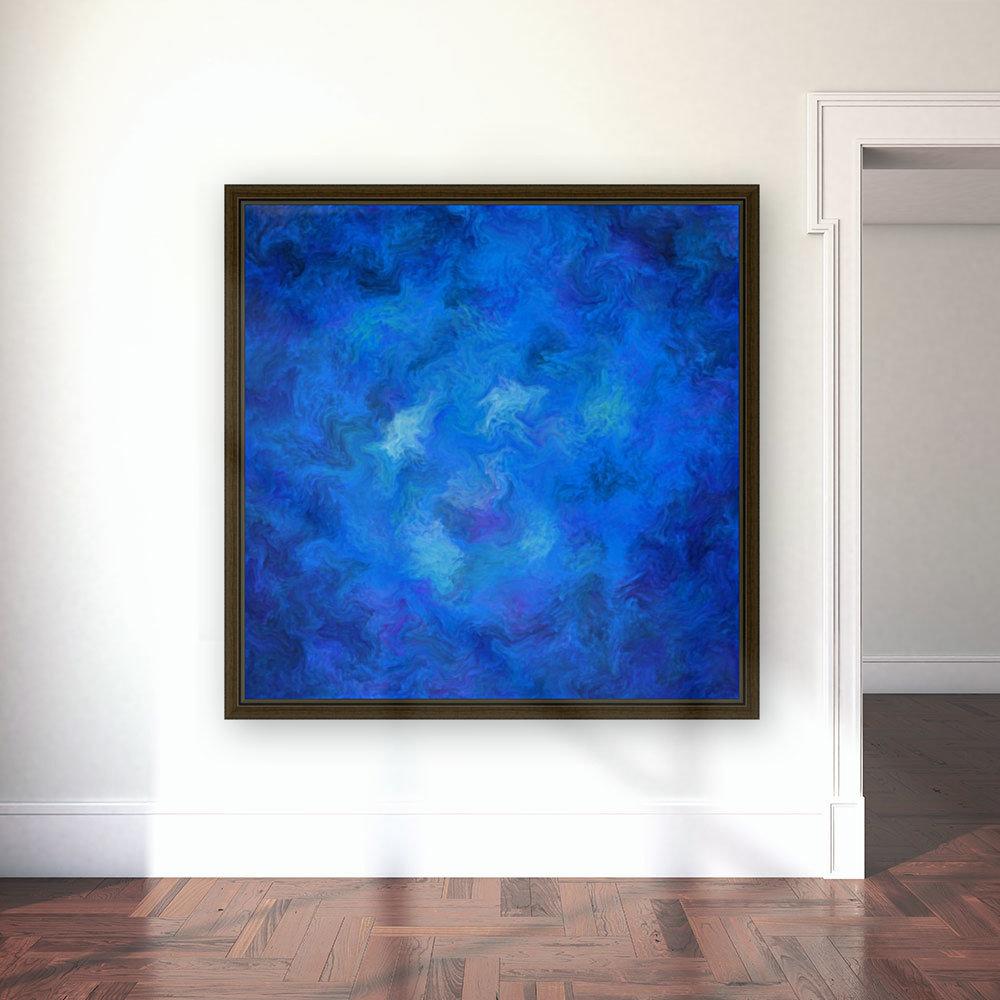 Denitamessa - deep blue world  Art
