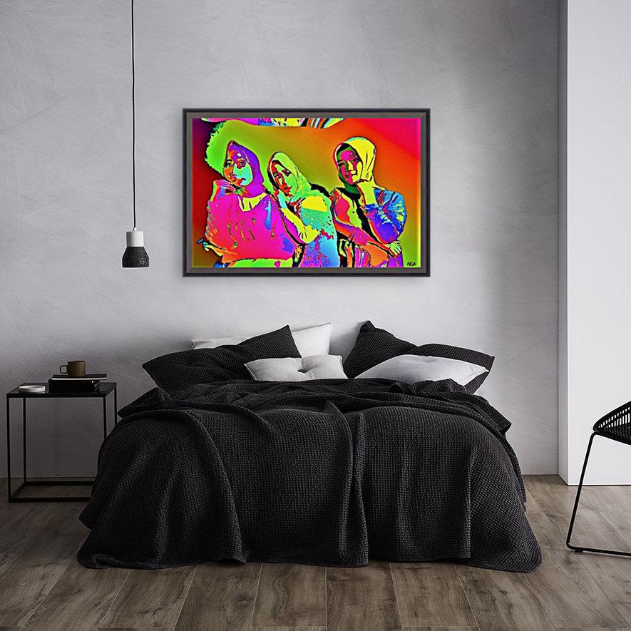 Three Friends - by Neil Gairn Adams  Art