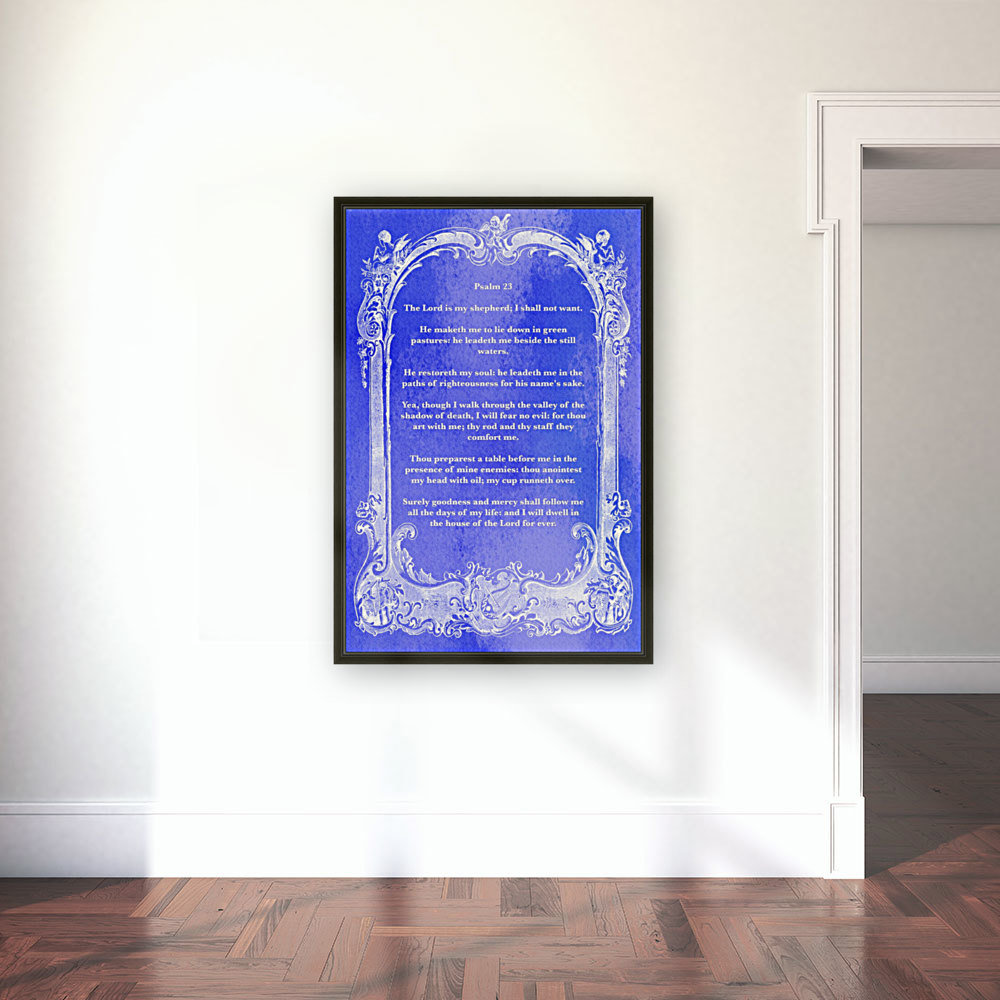 Psalm 23 7BL with Floating Frame