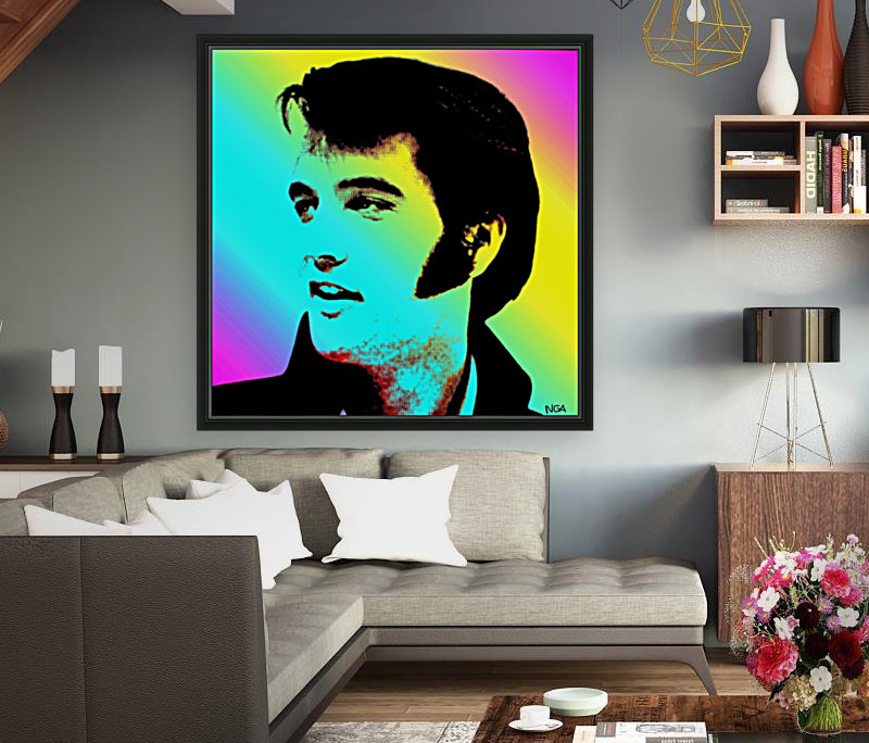 Elvis Presley -  by Neil Gairn Adams  Art
