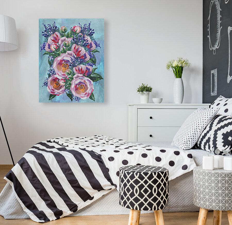 Beautiful Impressionistic Flowers  Art