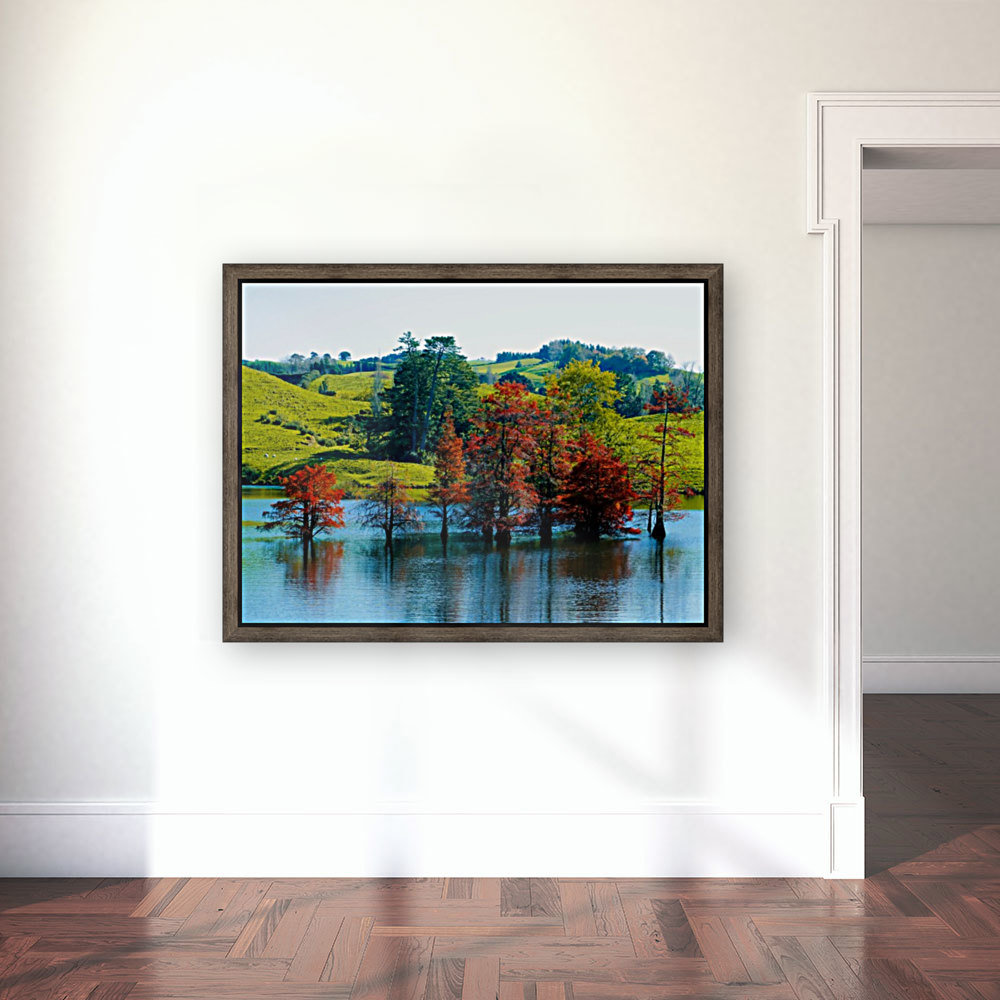 Water Trees with Floating Frame