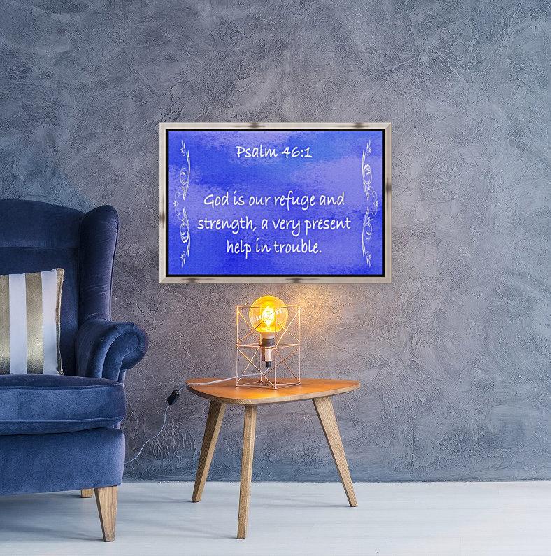 Psalm 46 1 4BL  Art