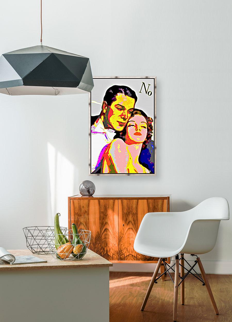 Voulez Vous Couchez Avec Moi - by Neil Gairn Adams  Art