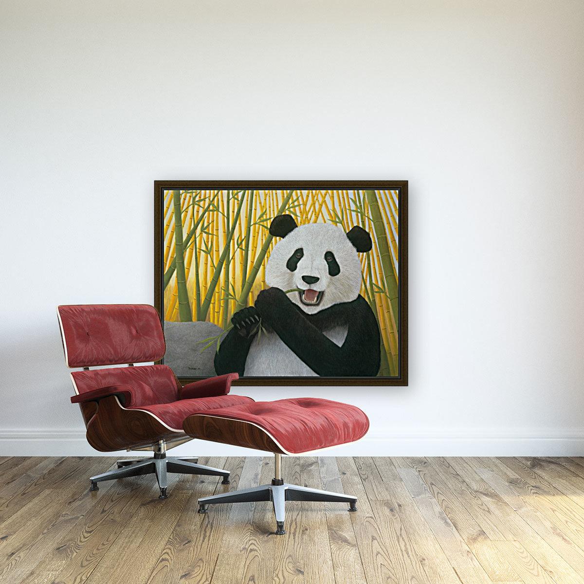 P is for Panda  Art