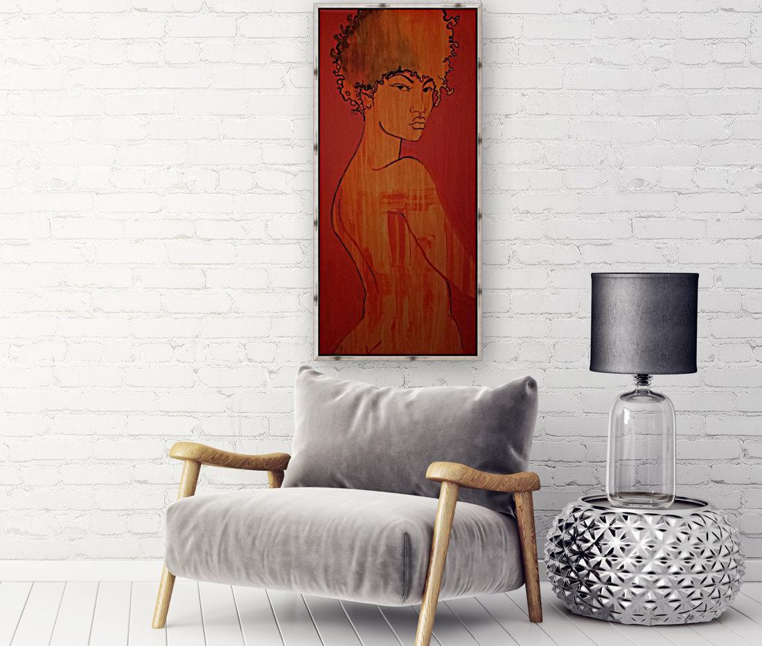 Red Girl  Art