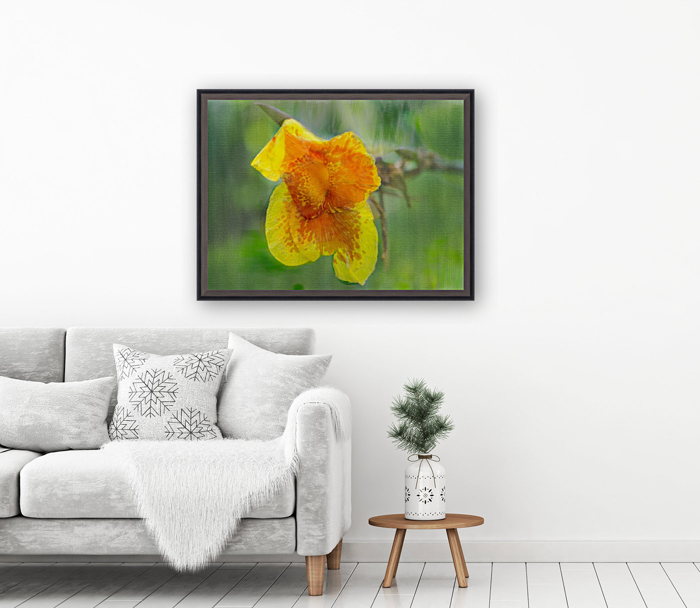 Canna Lily Digital Painting 52 70 200px  Art