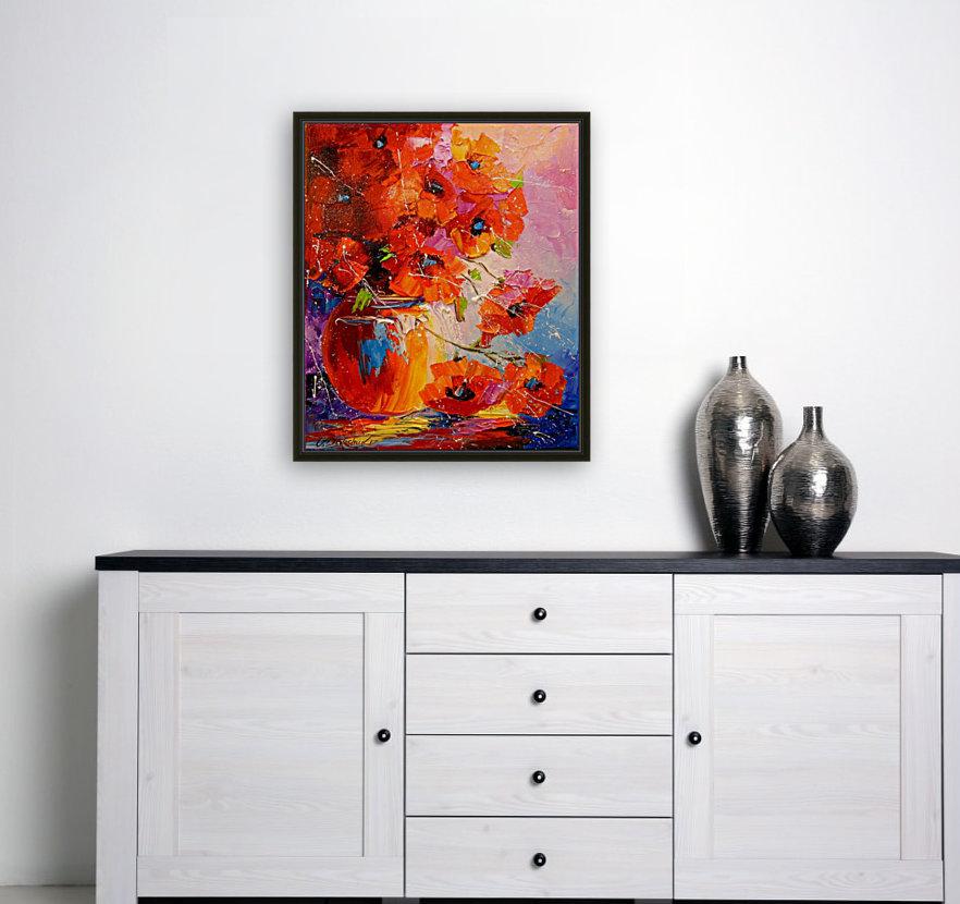 A bouquet of poppies  Art