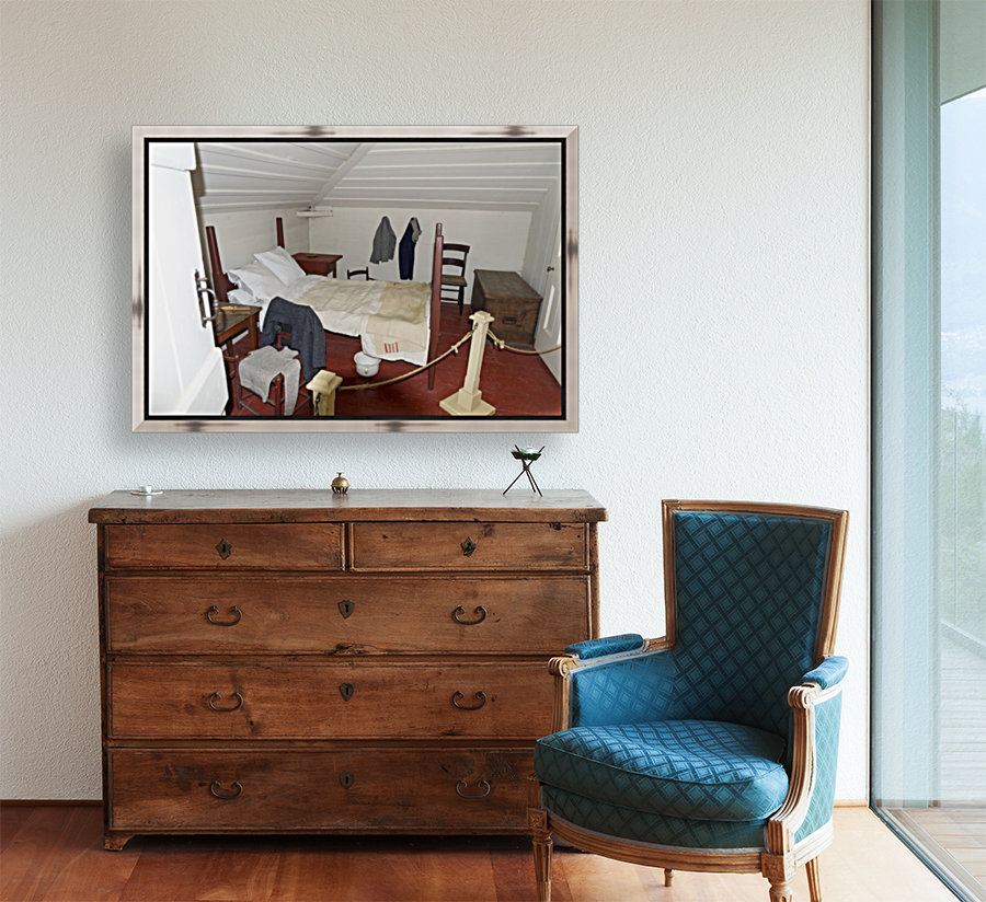 Bedroom in the Lightkeepers House 2  Art