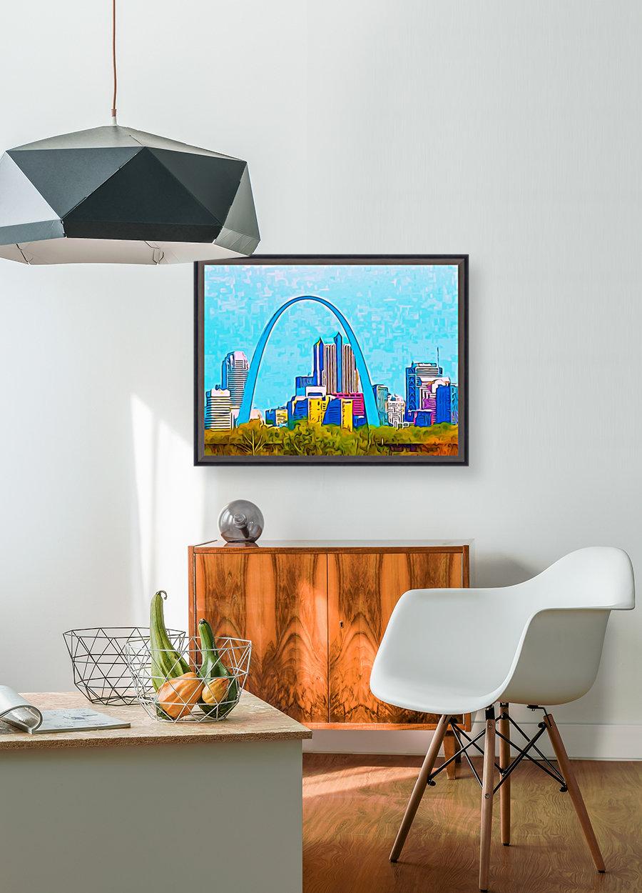 Saint Louis Arch  Art