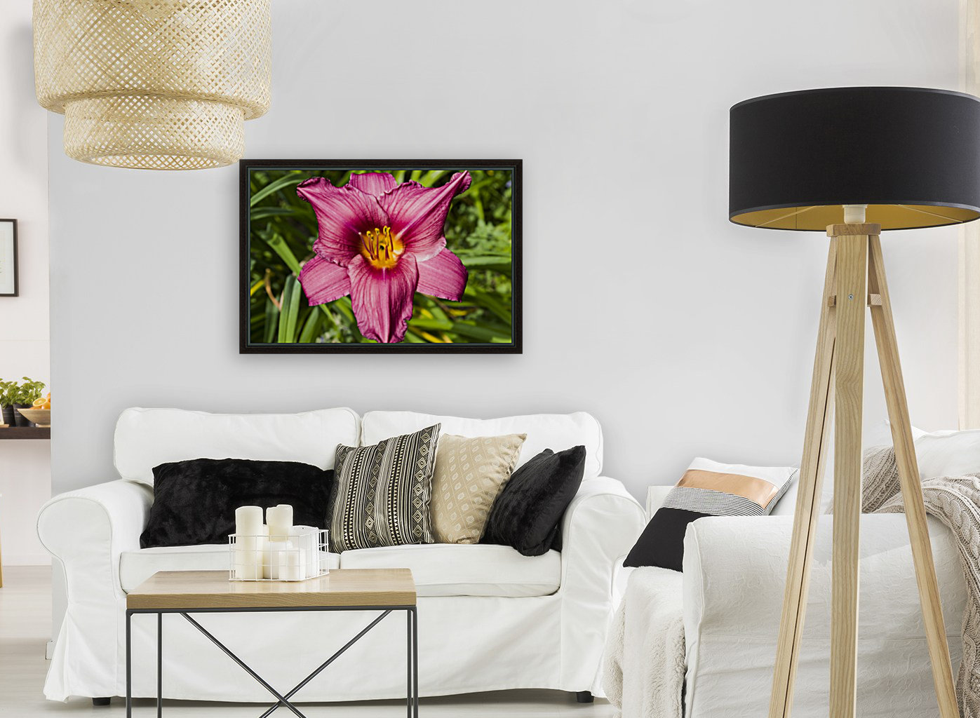 Purple Stella Doro Day Lily Flowers 2  Art