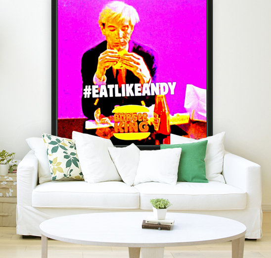 Eat like Andy -  by Neil Gairn Adams   Art