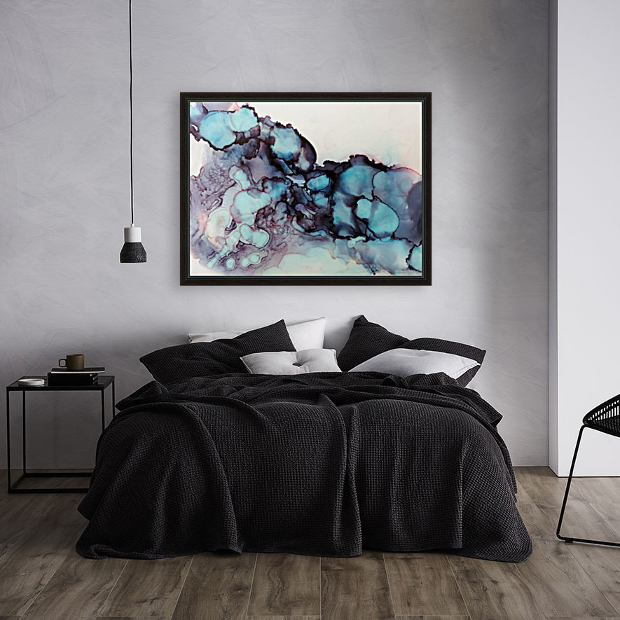 Turquoise Dream with Floating Frame