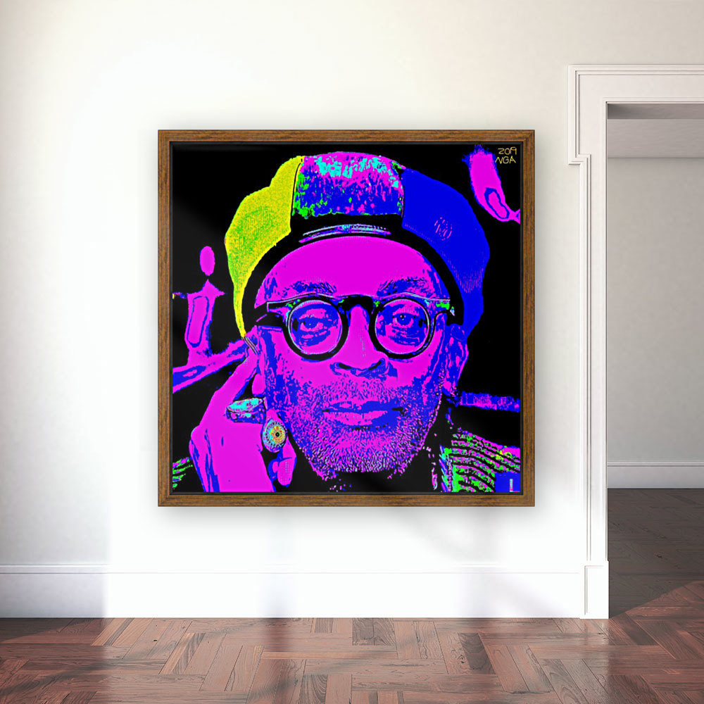 Spike Lee  -  by Neil Gairn Adams   Art