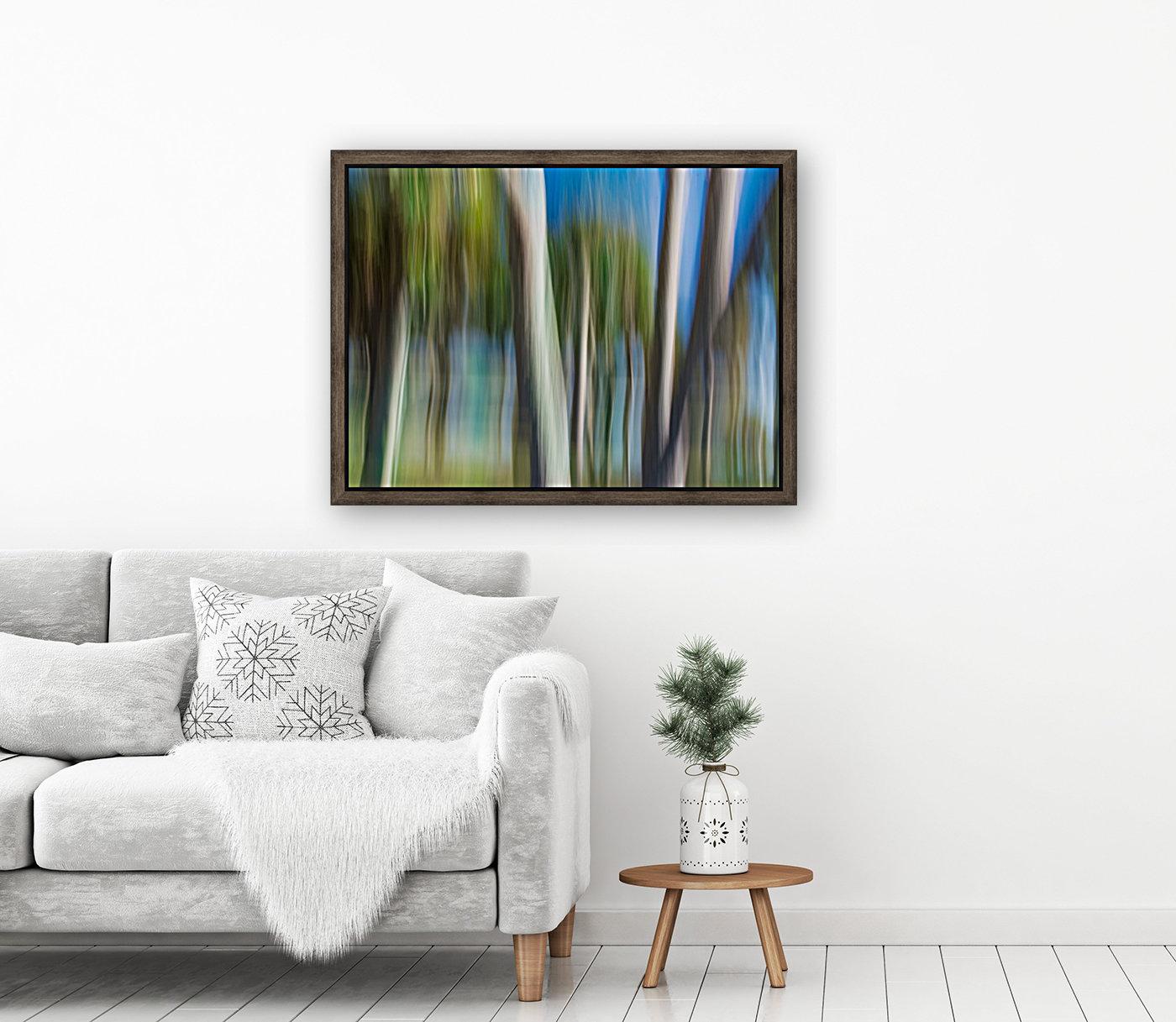 Moving Trees 31 Landcape 52 70 200px  Art